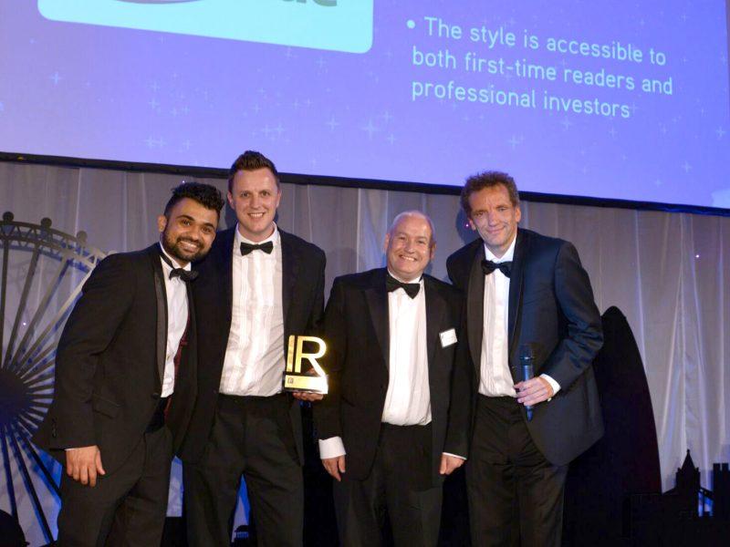 McBride plc wins Best Annual Report